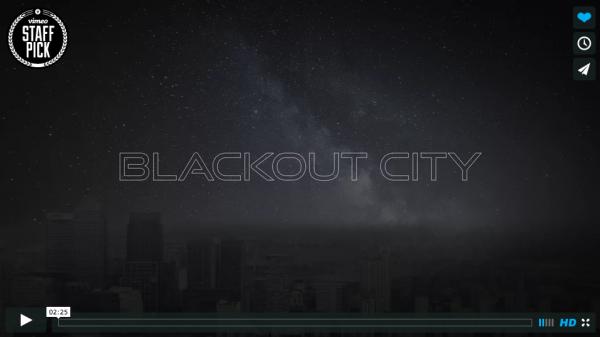 Blackout City Timelapse