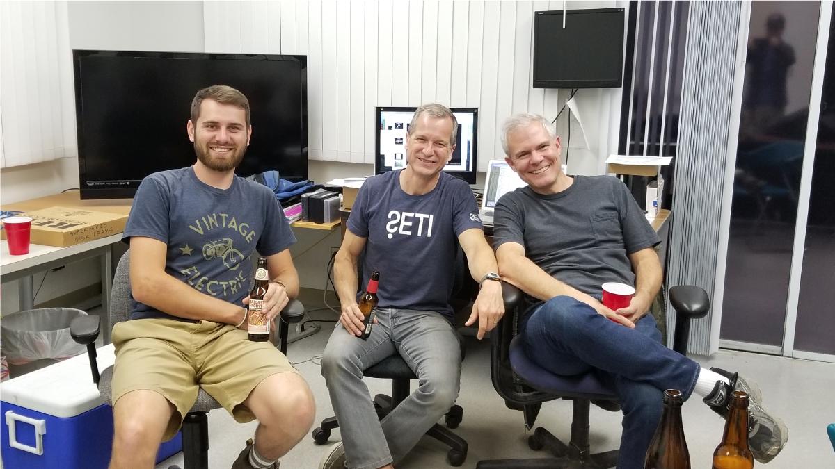 SETI Allen Telescope timelapse